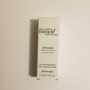 3/$20 Philosophy Anti-wrinkle Miracle Worker Prime